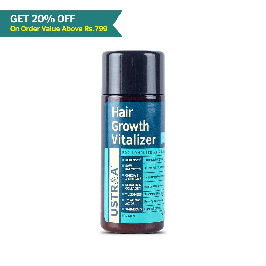 Hair Growth Vitalizer - 100 ml