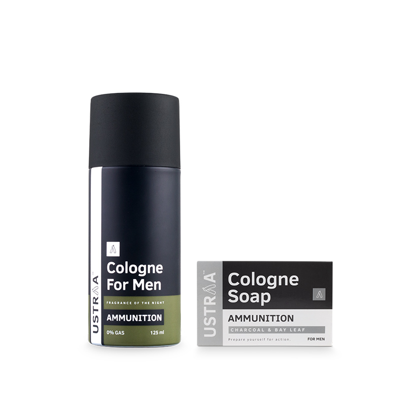 Cologne Spray - Ammunition & Cologne Soap - Ammunition