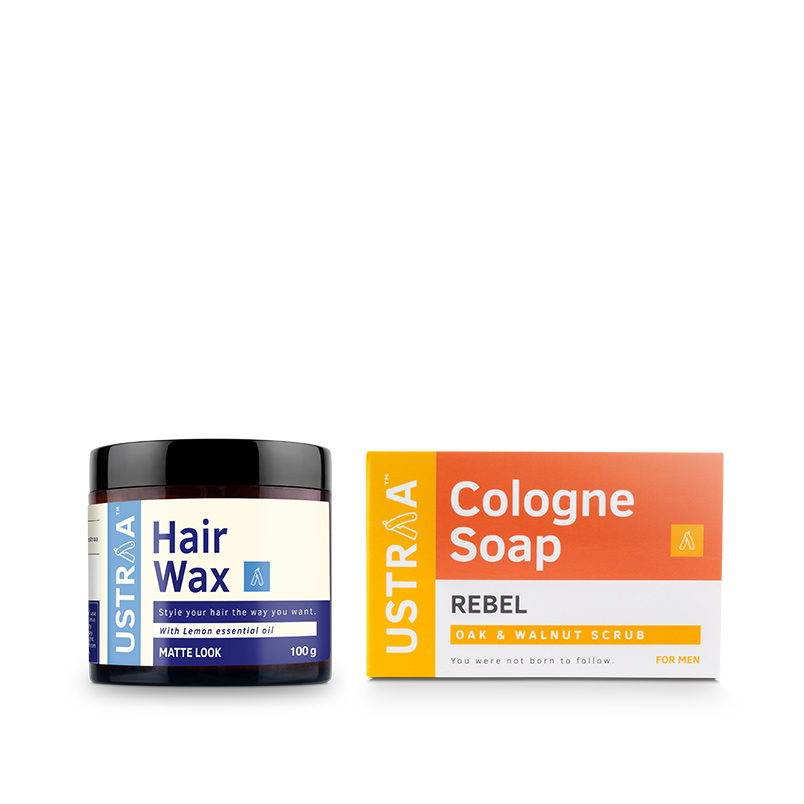 Hair Wax - Matte Look & Cologne Soap - Rebel