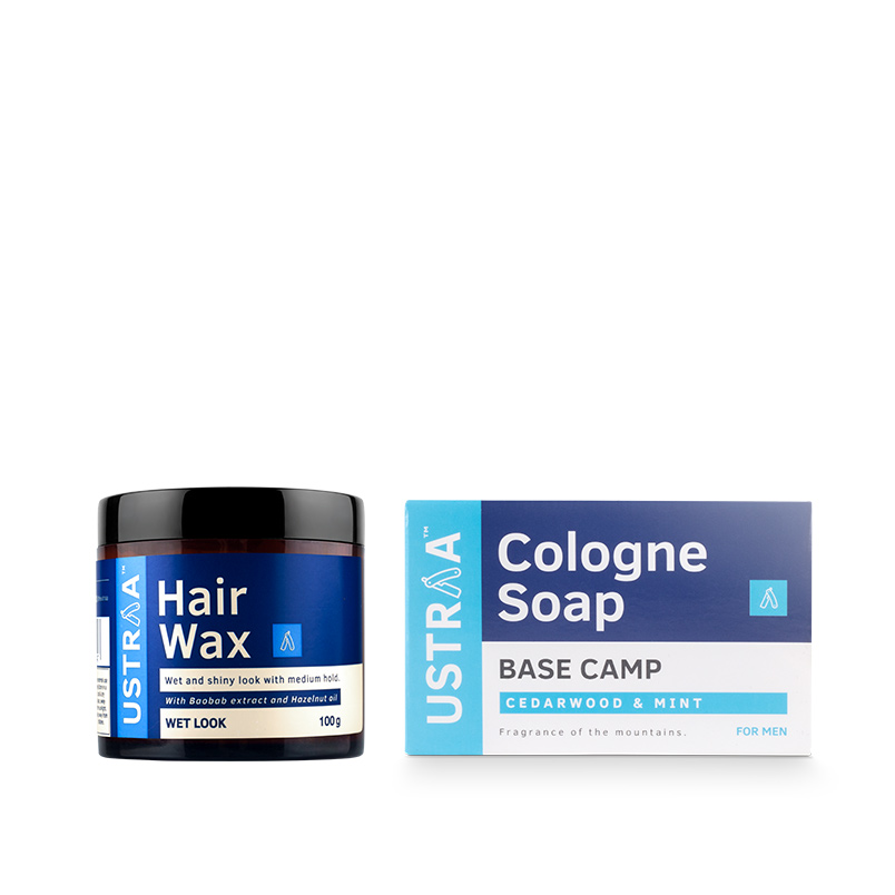 Hair Wax - Wet Look & Cologne Soap - Base Camp