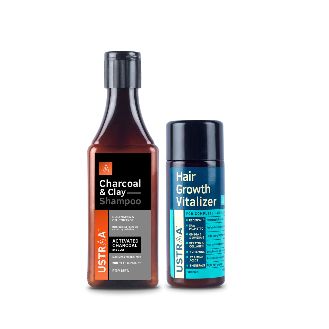 Clay & Charcoal Shampoo & Hair Growth Vitalizer