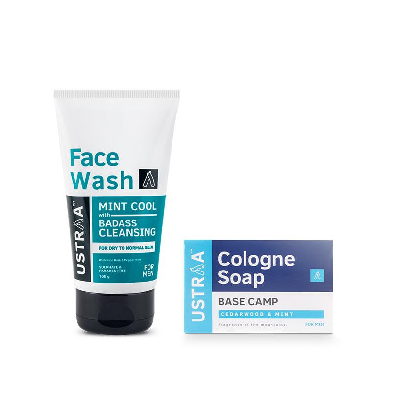 Face Wash - Dry Skin & Cologne Soap - Base Camp