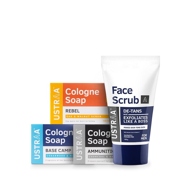 Face Scrub & Soaps Bundle