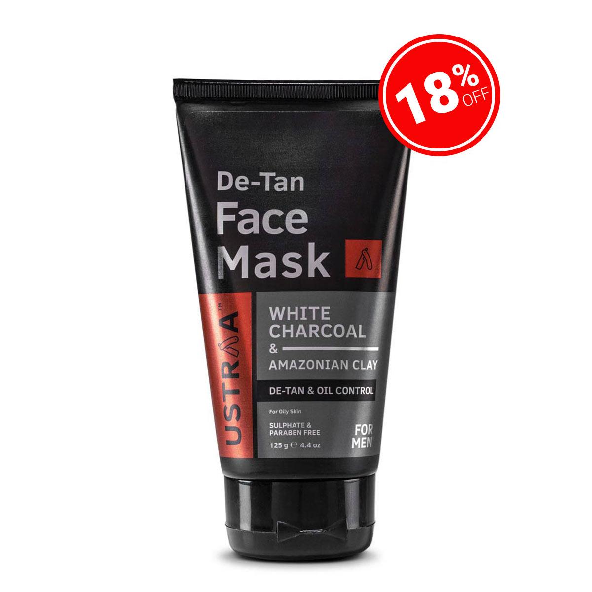 De-Tan Face Mask - Oily Skin  - 125 g