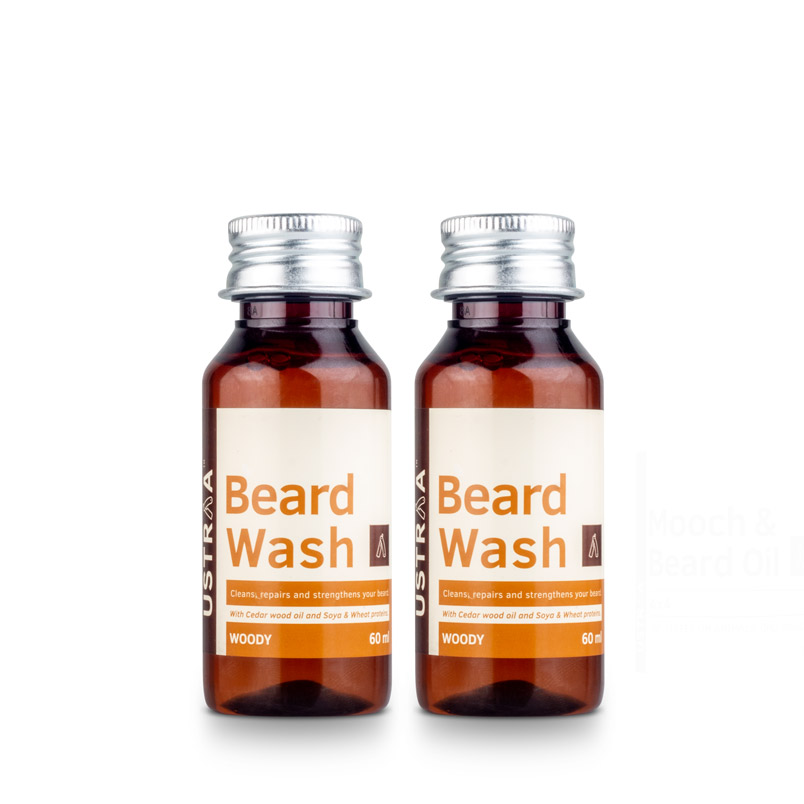 Beard Wash (Woody) - Set of 2