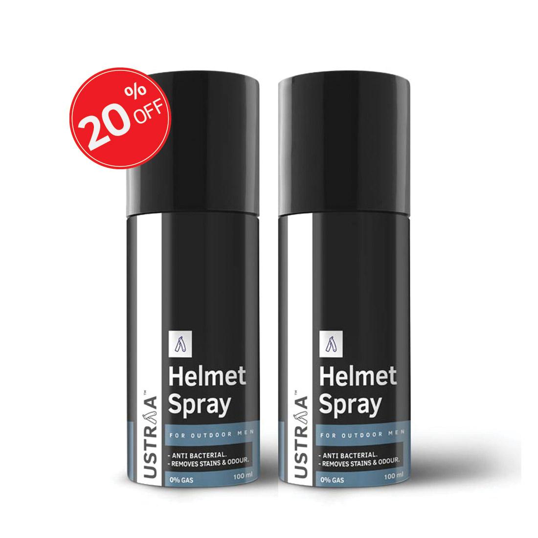 Helmet Spray - Set of 2