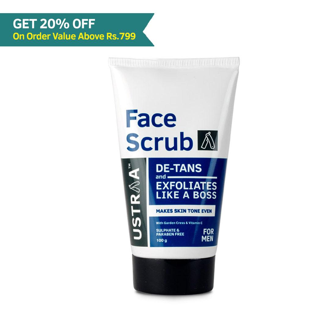 Face Scrub for de-Tan - 100g
