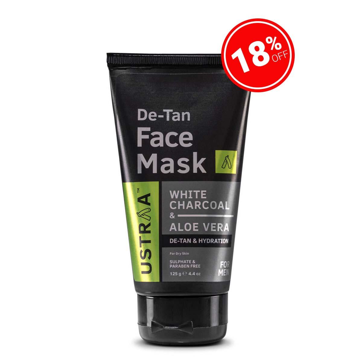 De-Tan Face Mask - Dry Skin - 125 g