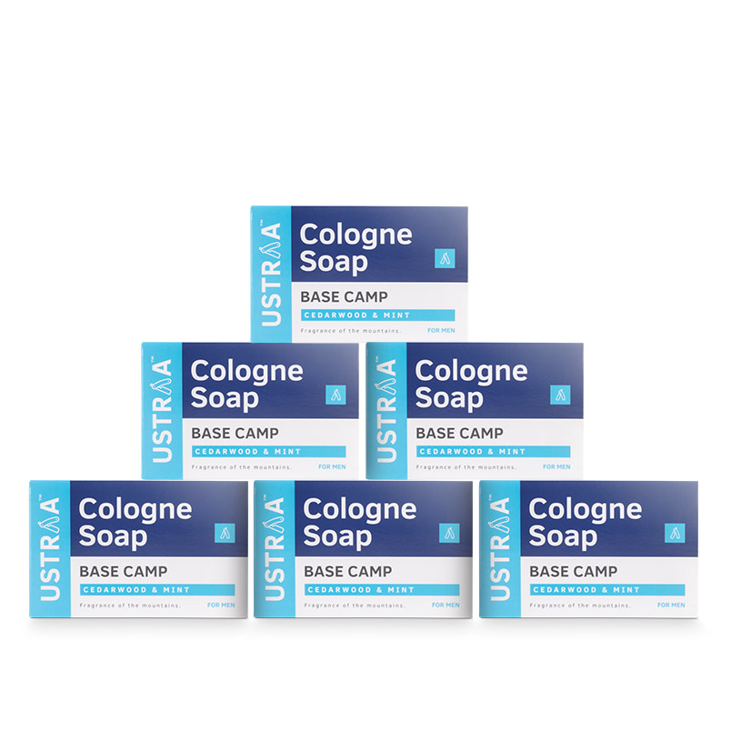 Base Camp Cologne Soap - Pack of 6