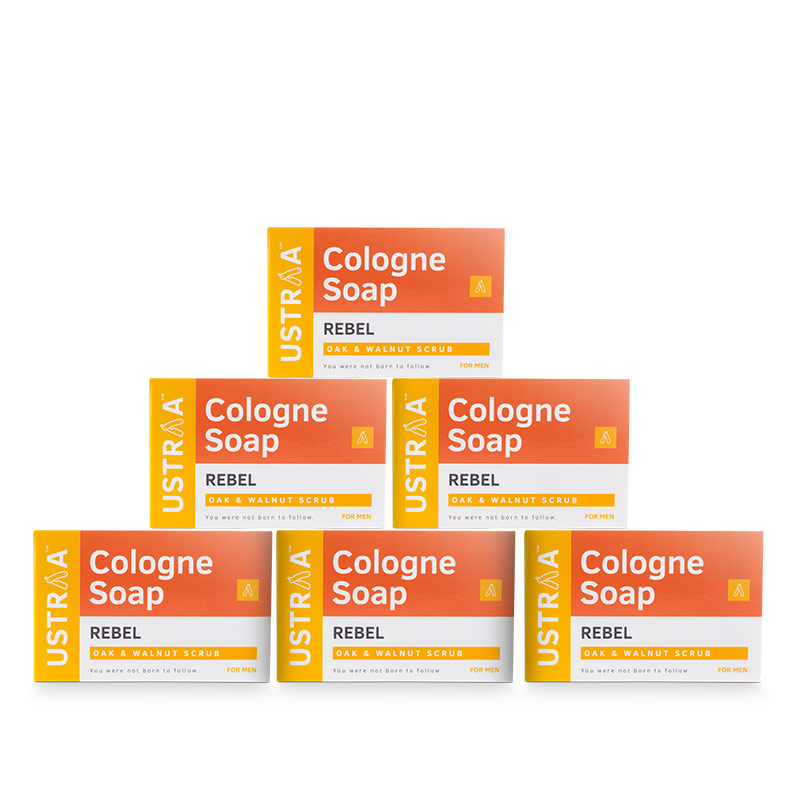 Rebel Cologne Soap - Pack of 6