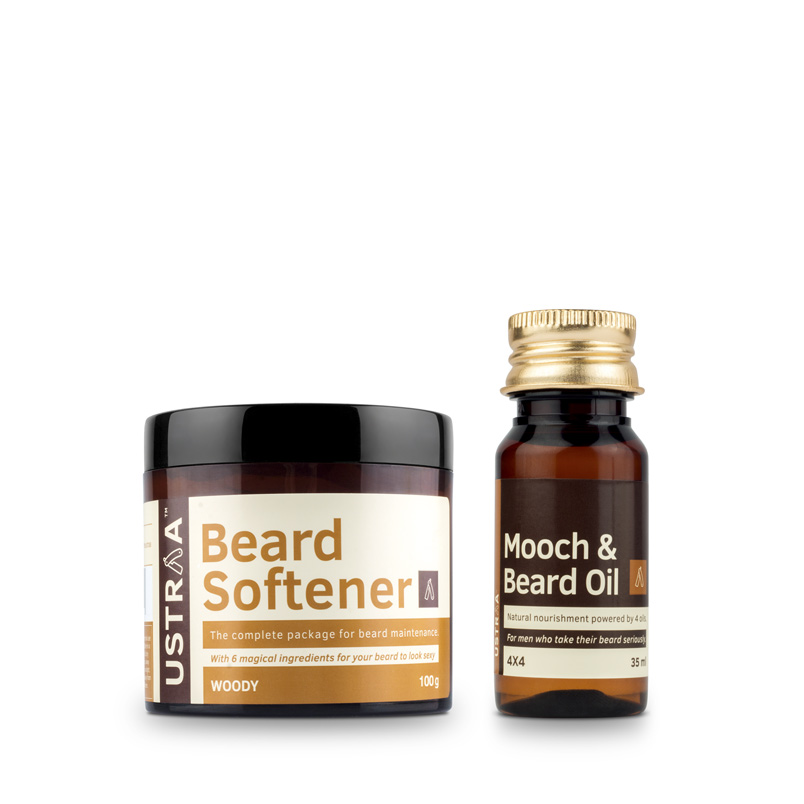 Beard Oil 4x4 & Beard Softener