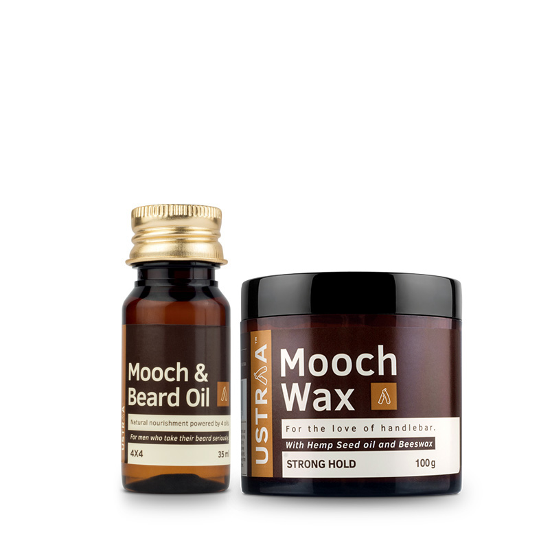Mooch Wax - Strong Hold & Beard Oil 4x4