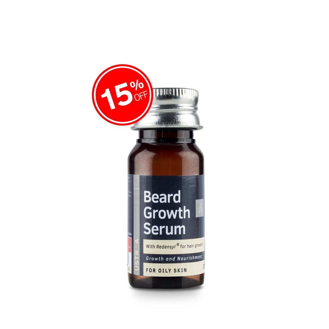 Beard Growth Serum (For Oily Skin) - 35ml