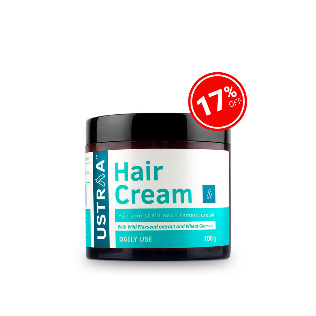 Hair Cream for men - Daily Use - 100g