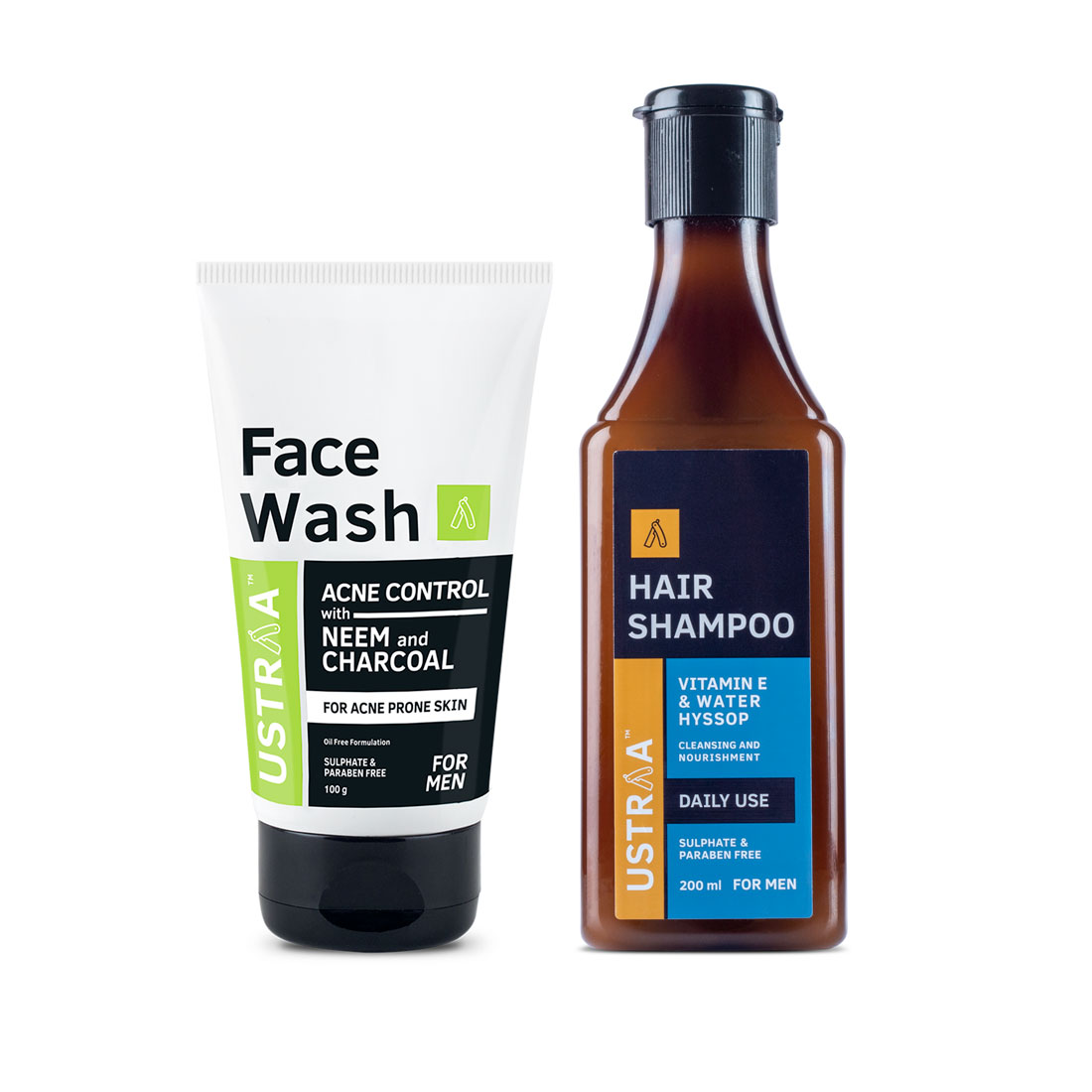 Face Wash Acne Control and Hair Shampoo Daily Use