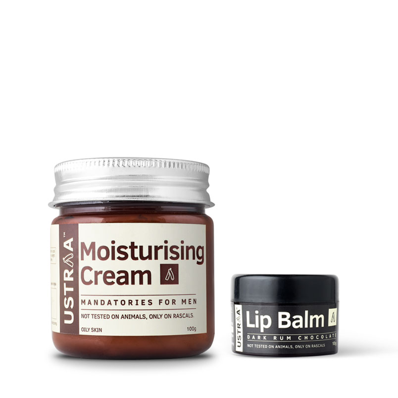 Lip Balm & Moisturising Cream for Oily Skin