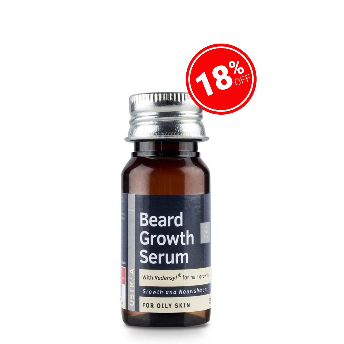Beard Growth Serum (For Oily Skin) - 35ml