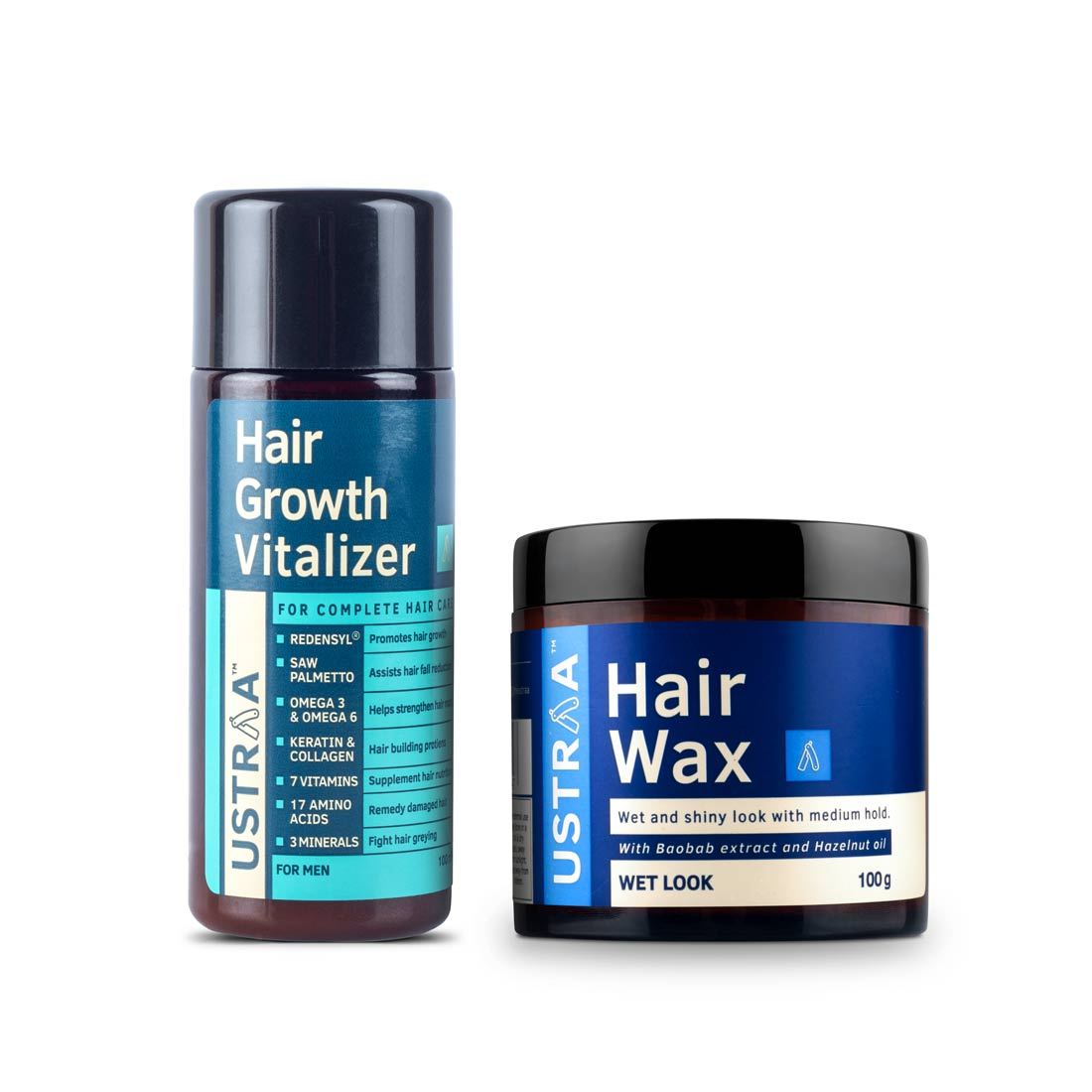 Hair Growth Vitalizer & Hair Wax- Wet Look