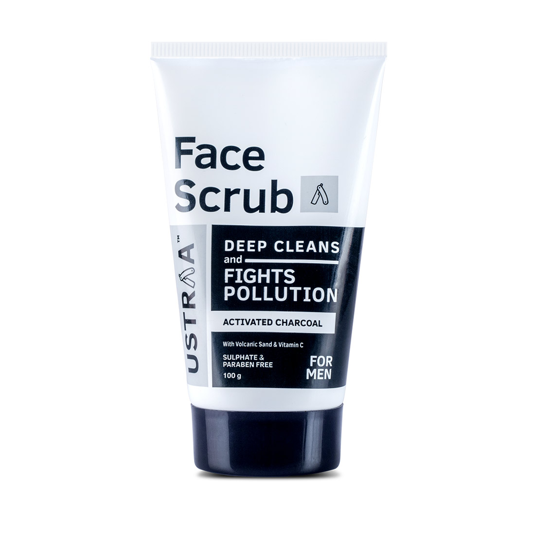 Activated Charcoal Face Scrub - 100gm