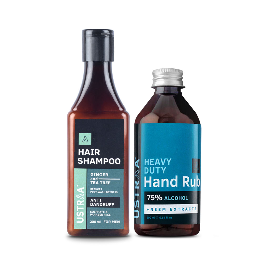 Anti Dandruff Shampoo and Hand Rub - 200 ml