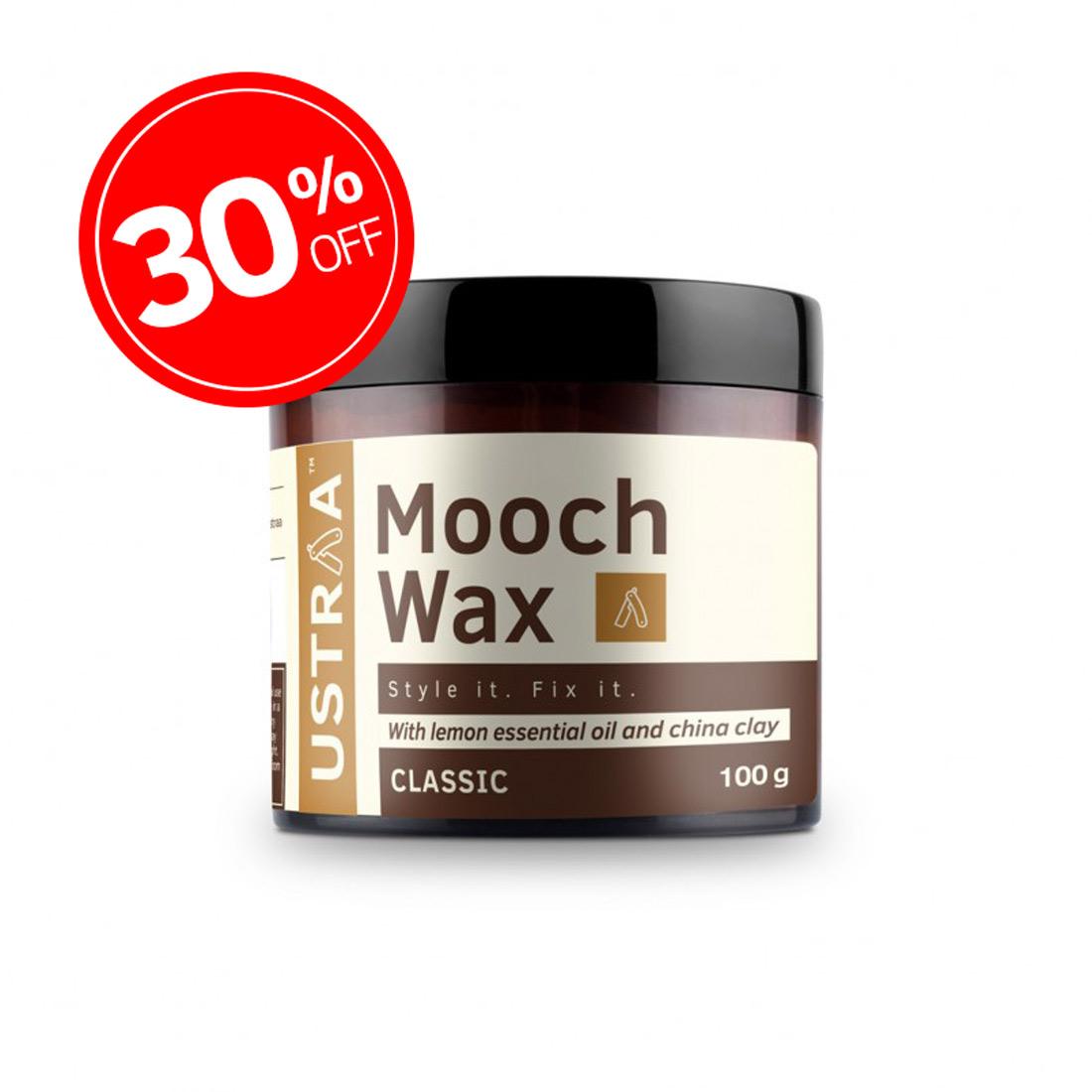 Beard & Mooch Styling Wax - 100g