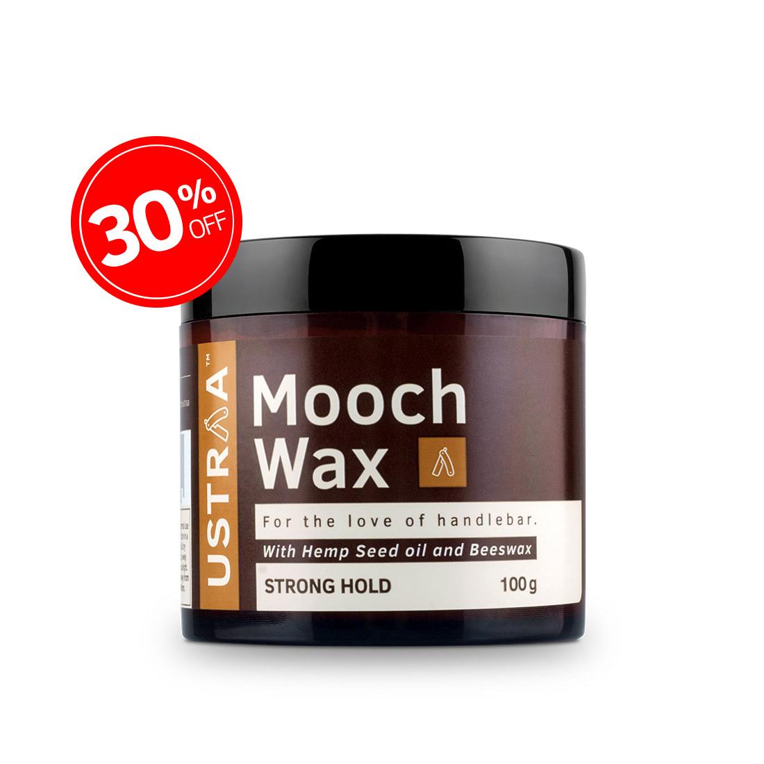 Beard & Mooch Wax Strong Hold - 100g