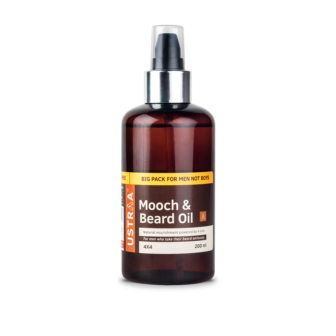 Mooch and Beard Oil (4x4) - 200ml