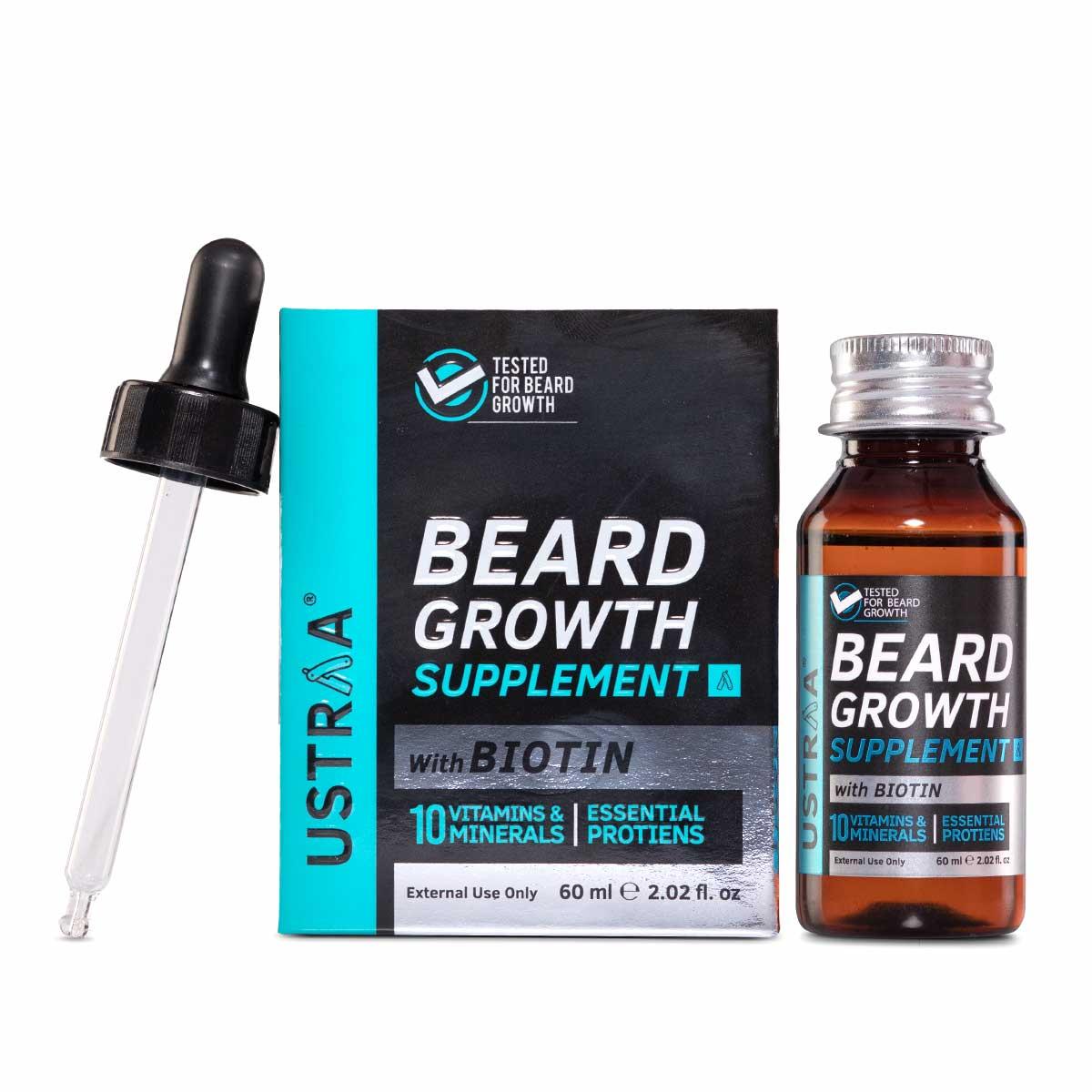 Beard Growth Supplement - 60 ml