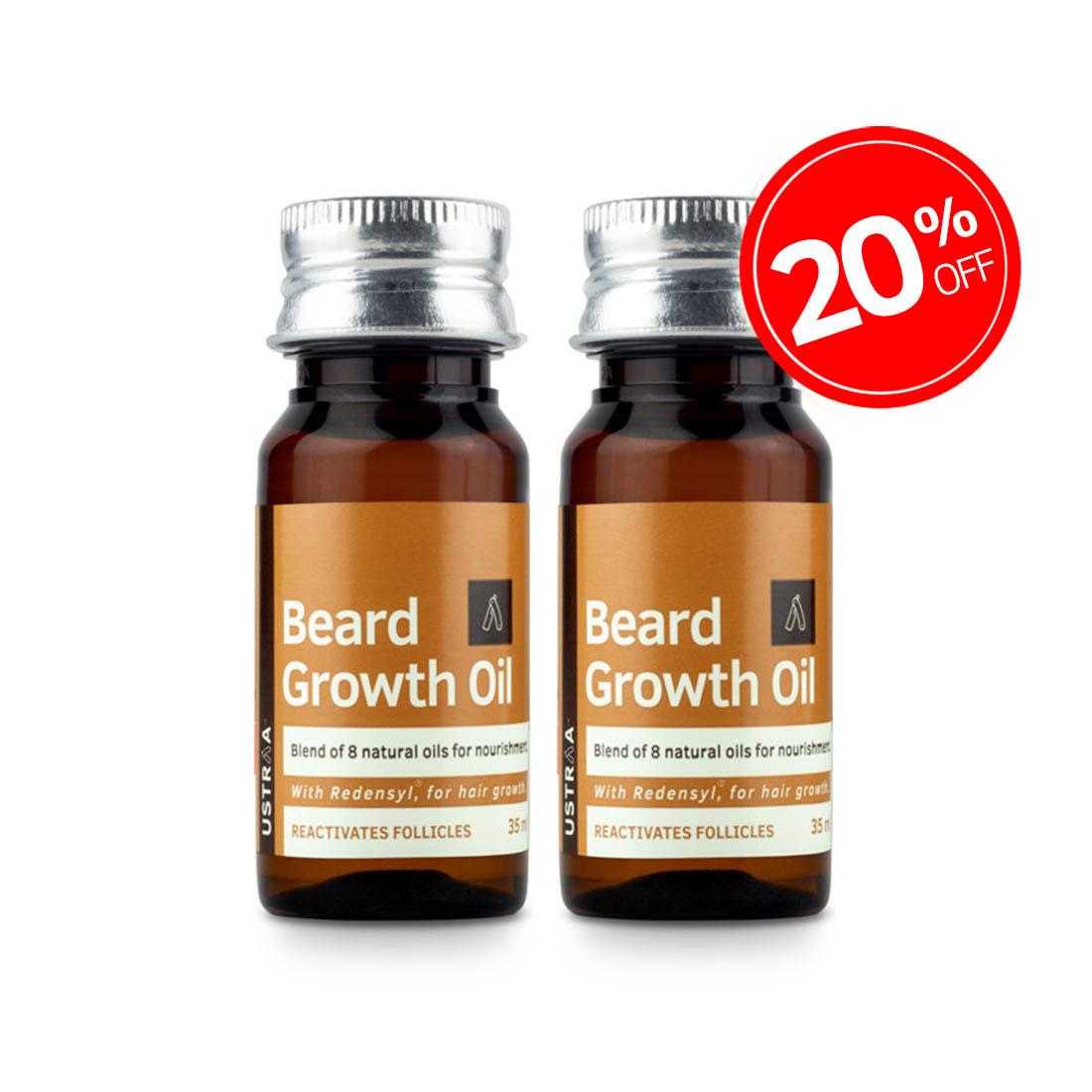 Beard Growth Oil - 35 ml - Set of 2