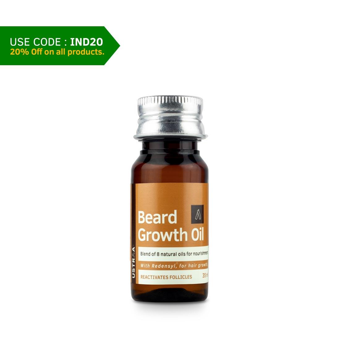 Beard Growth Oil - 35 ml