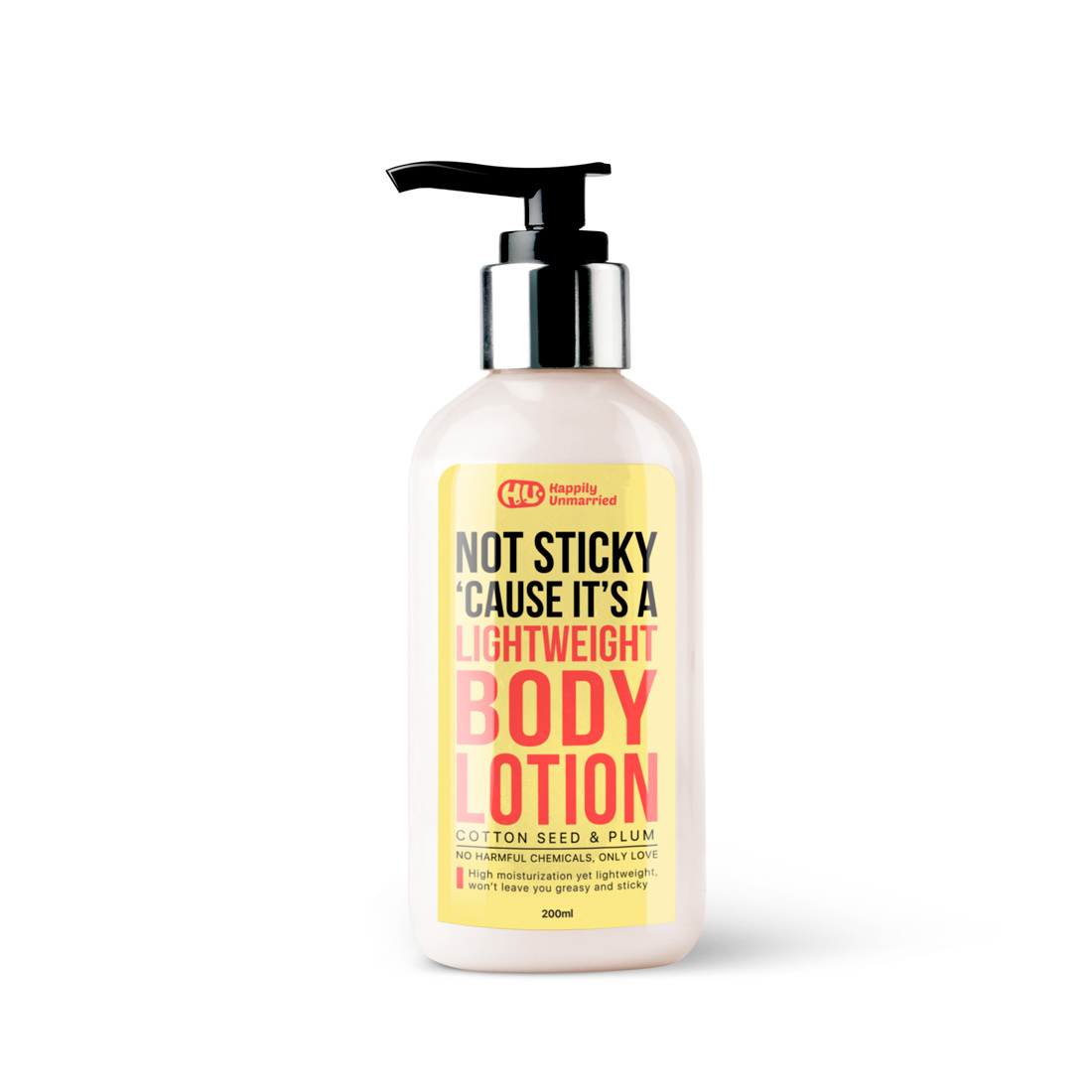Body lotion - Cottonseed & Plum - 200ml