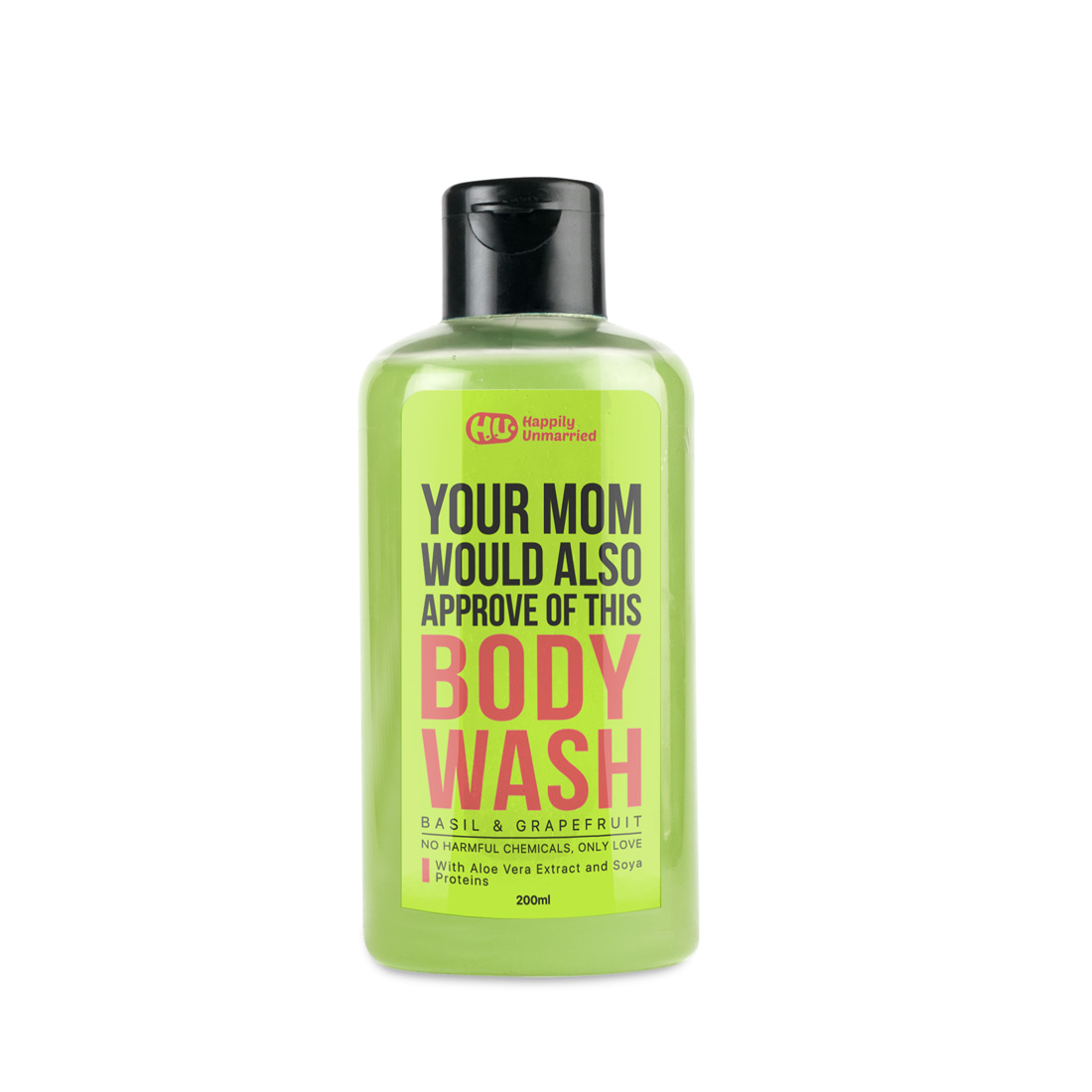 Body Wash - Basil & Grapefruit - 200ml