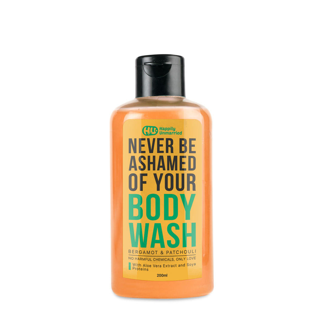 Body Wash - Bergamot & Patchouli - 200ml