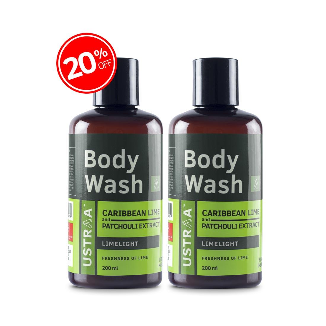 Body Wash - Limelight - 200ml - Set of 2