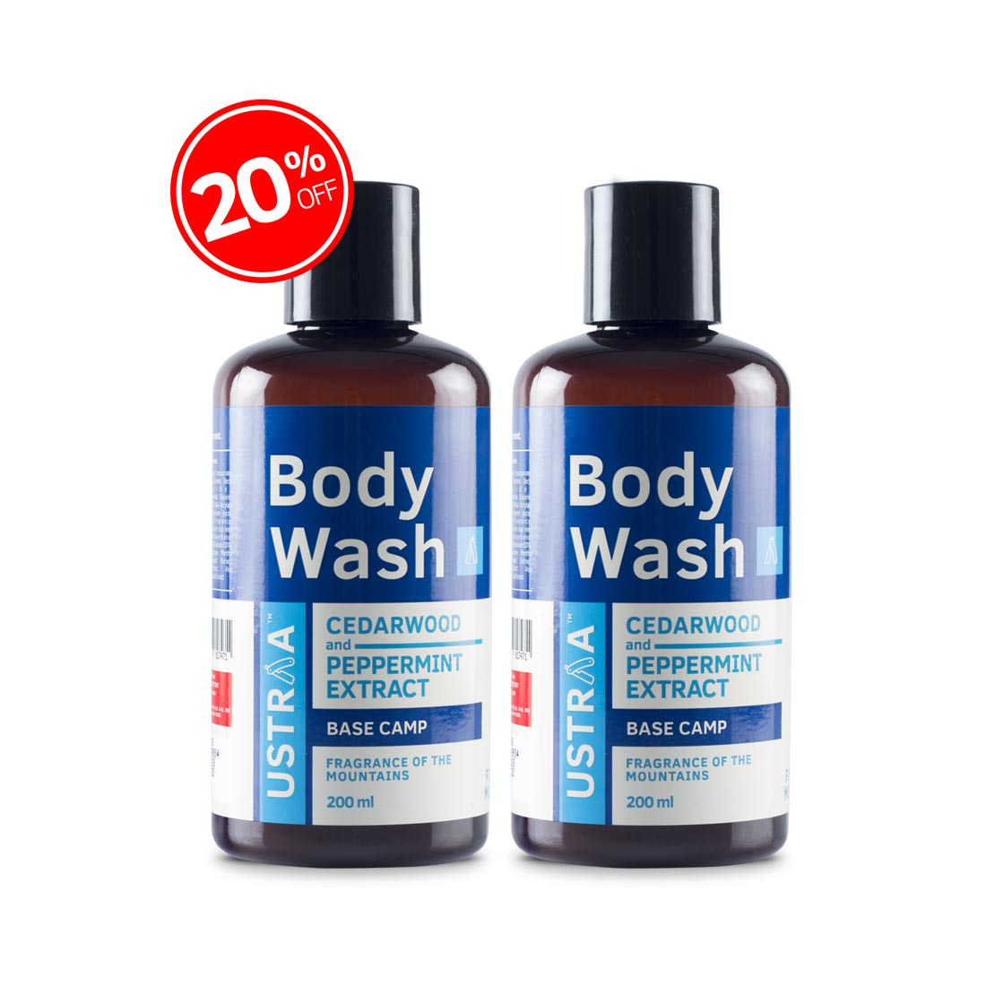 Body Wash - Base Camp - Set of 2
