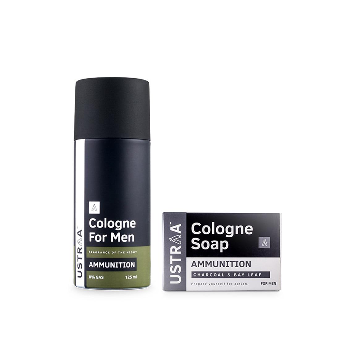 Cologne Spray - Ammunition & Cologne Soap - Ammunition