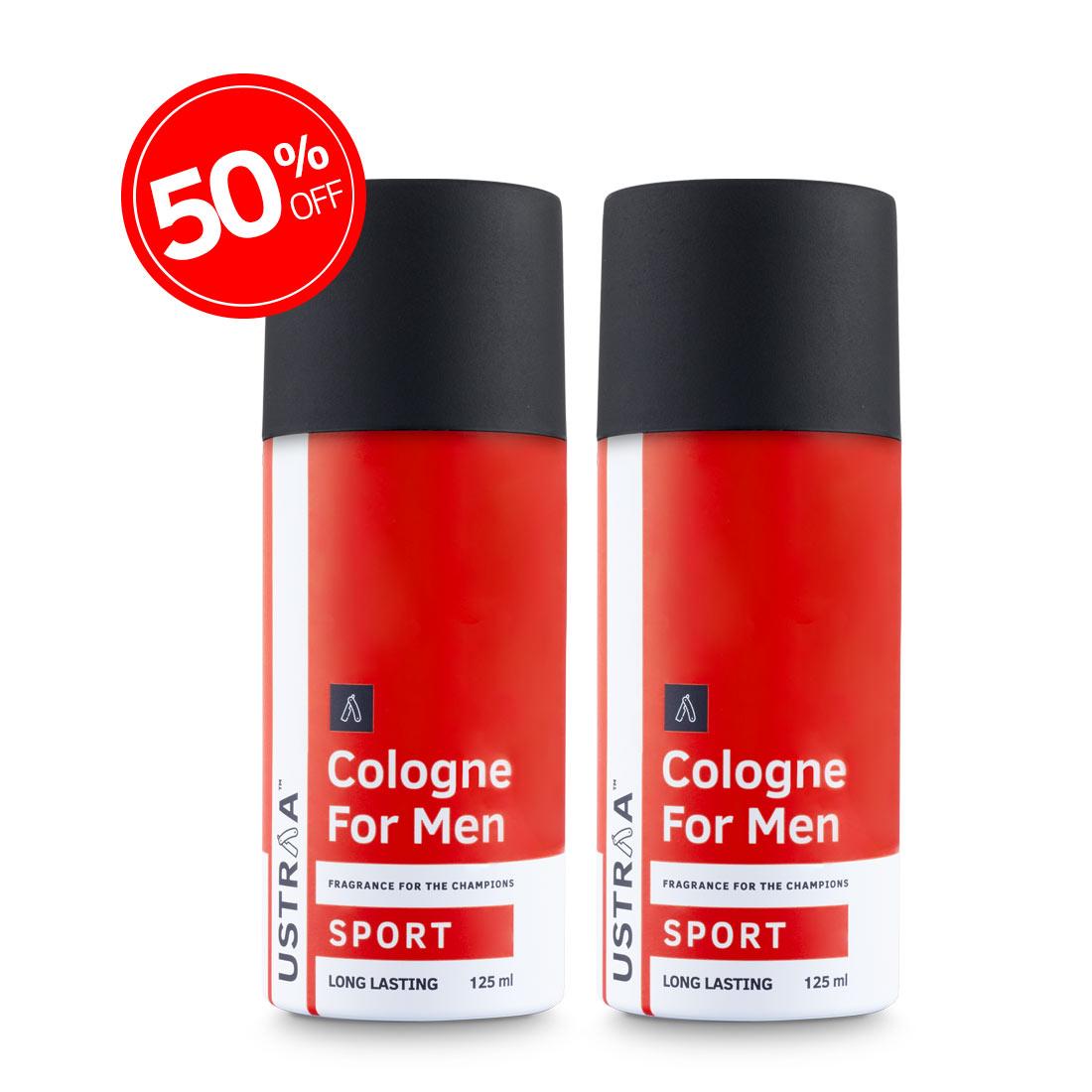 Cologne Spray Sport Set Of 2
