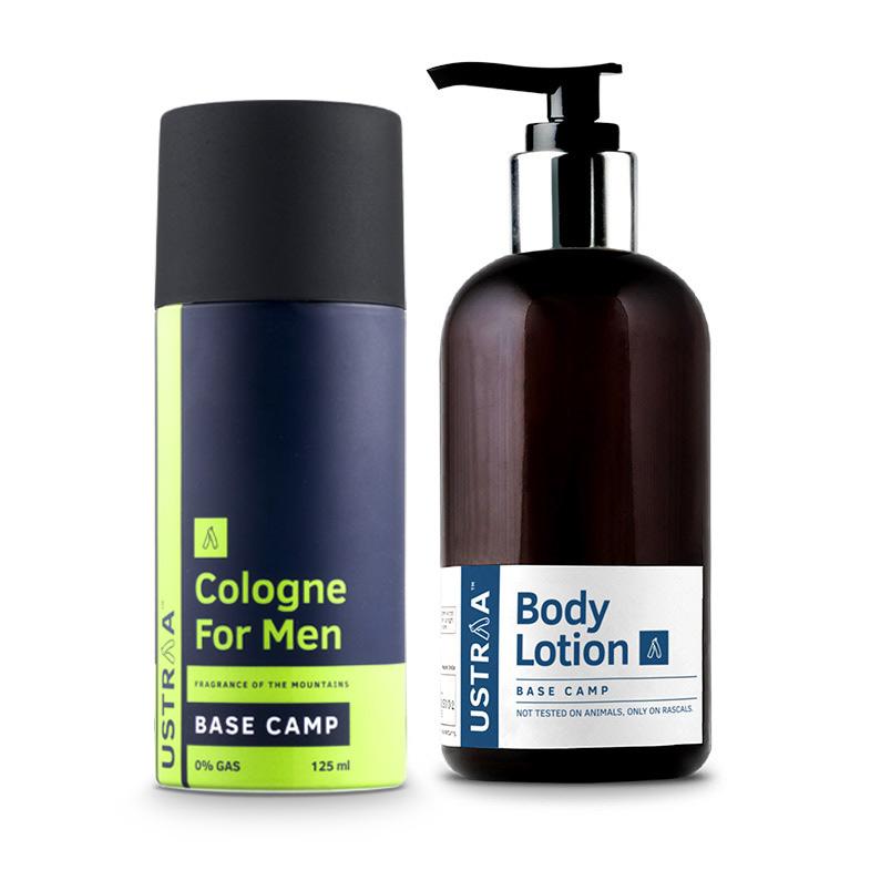 Cologne Spray - Base Camp & Body Lotion