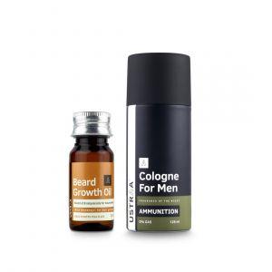 Beard Growth Oil and Cologne Spray - Ammunition