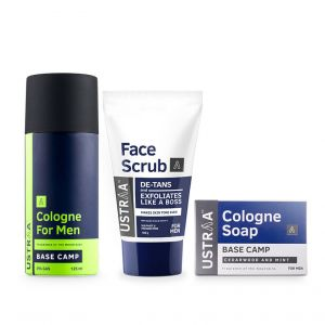 Cologne Spray - Base Camp, Face Scrub & Cologne Soap - Base Camp