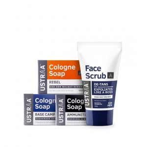 Face Scrub & Soaps Bundle