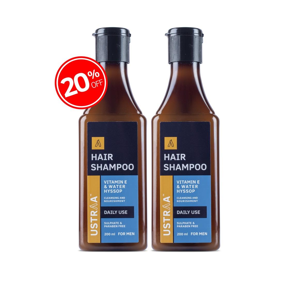 Daily Use Hair Shampoo - Set Of 2