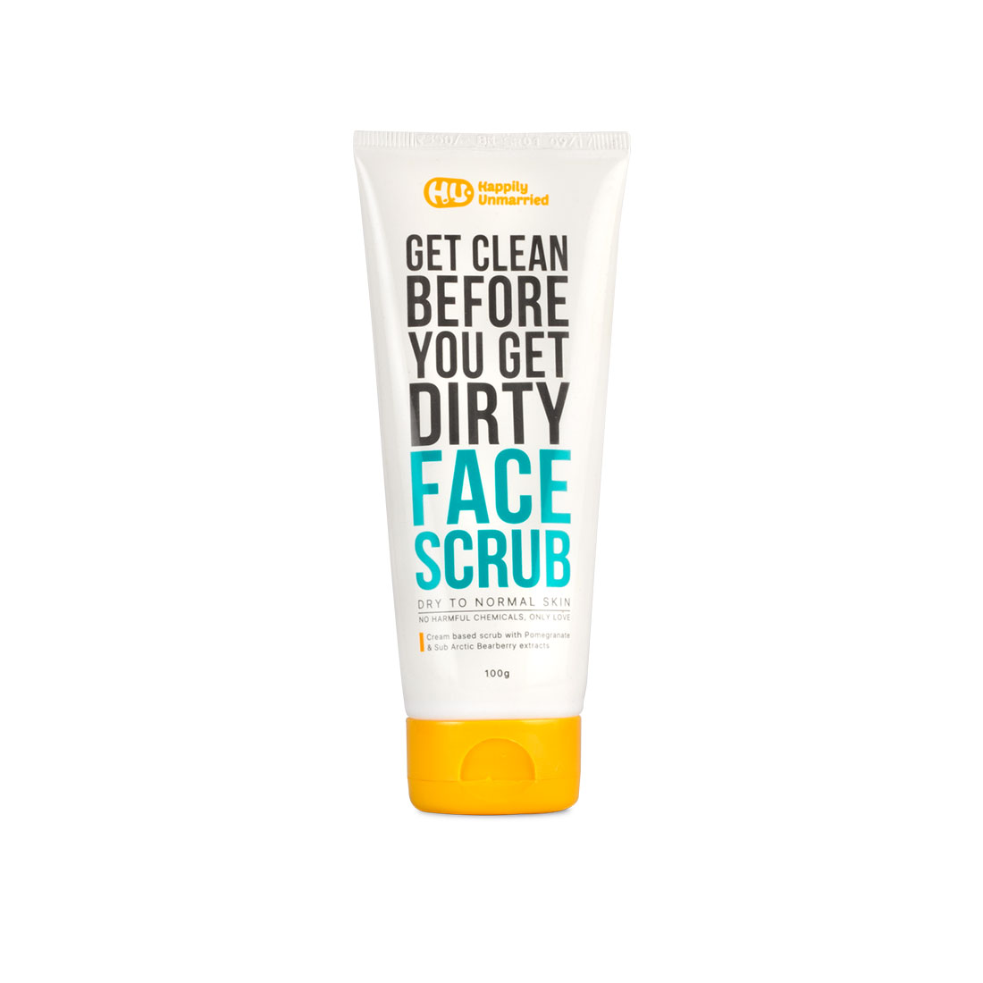 Face Scrub - Dry to Normal Skin - 100g