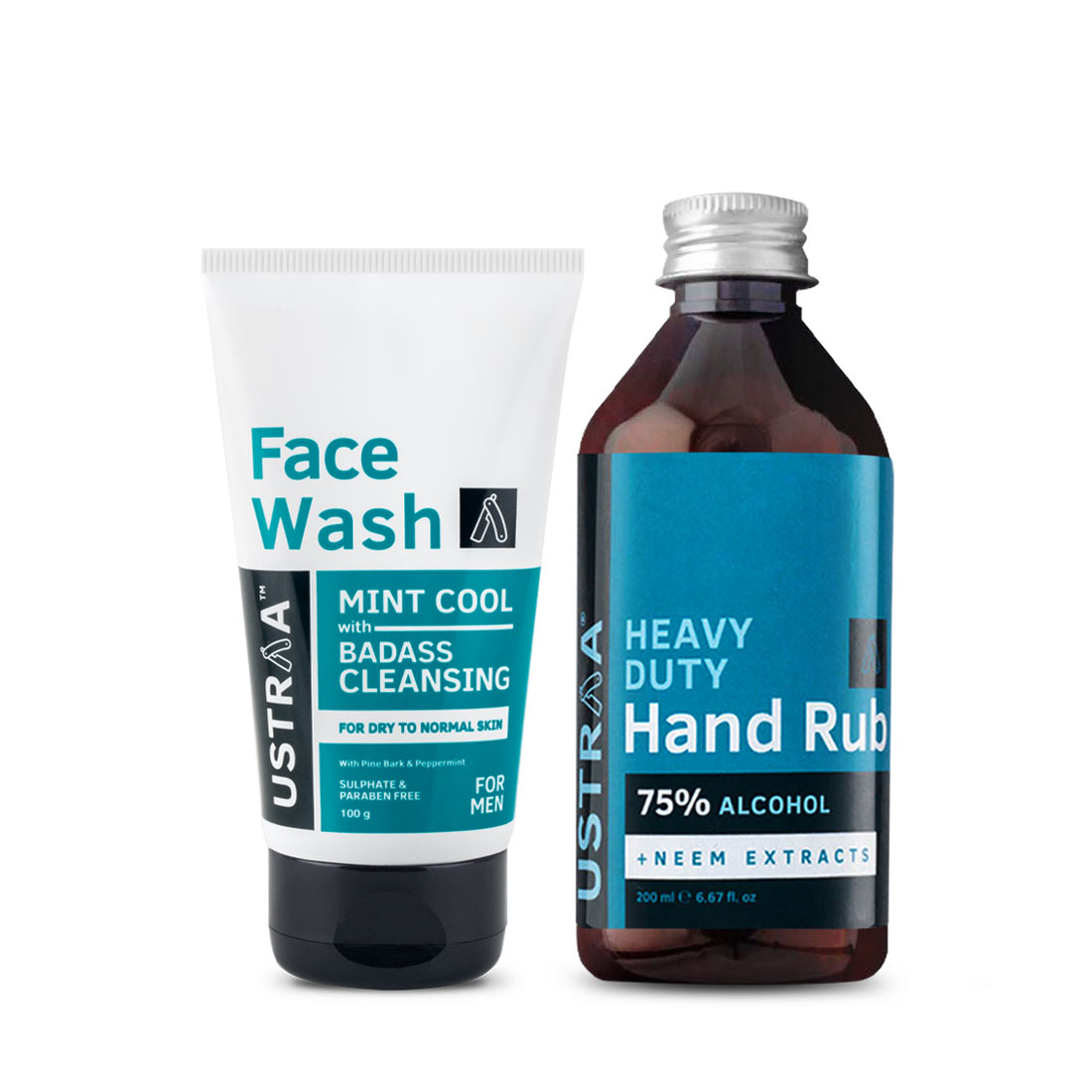 Face Wash - Dry Skin and Hand Rub - 200 ml