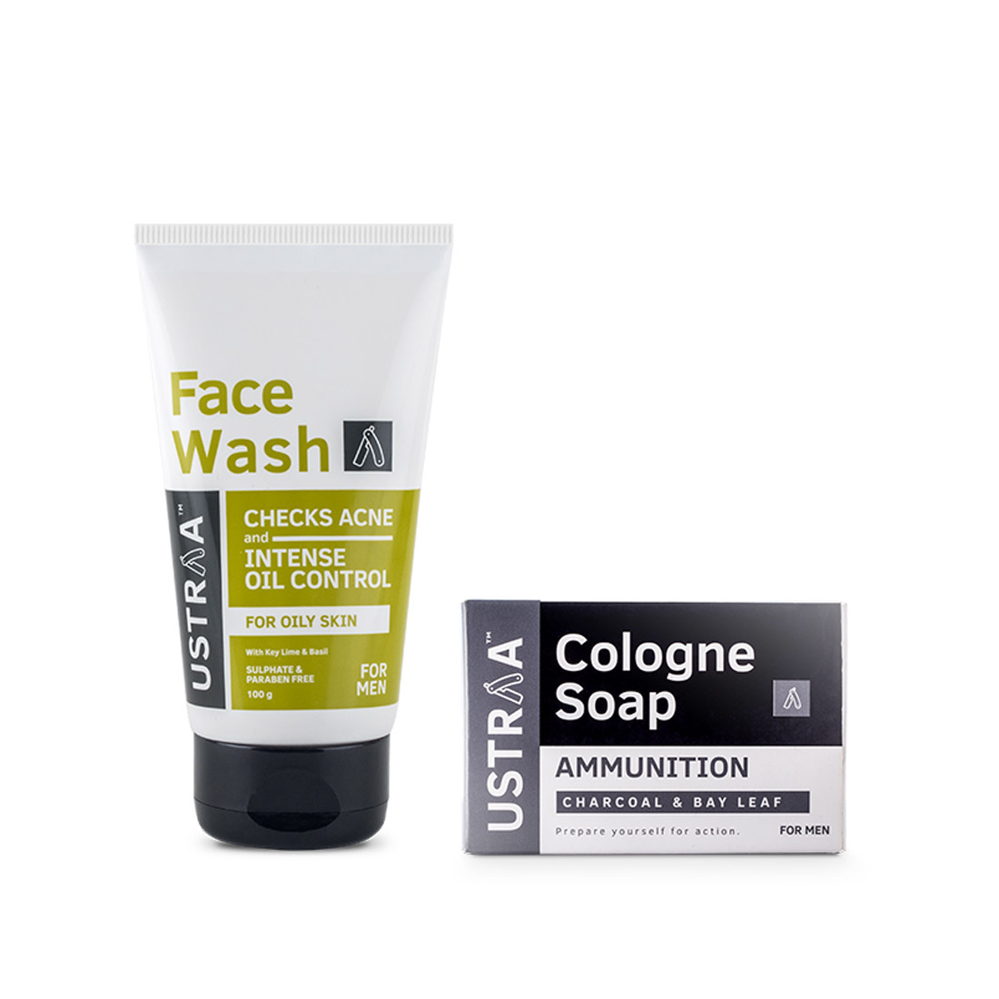 Face Wash - Oily Skin & Cologne Soap - Ammunition