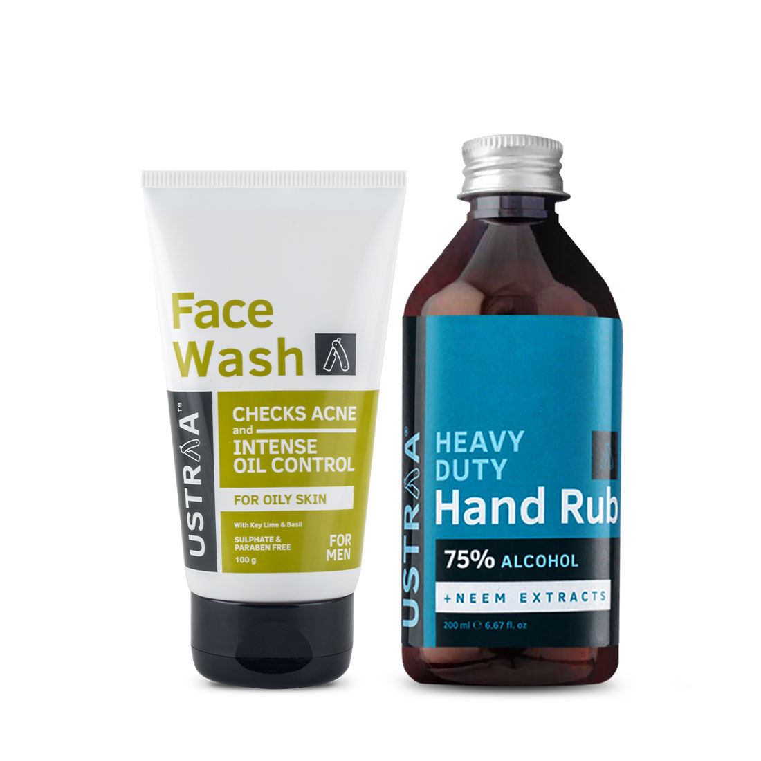 Face Wash - Oily Skin and Hand Rub - 200 ml