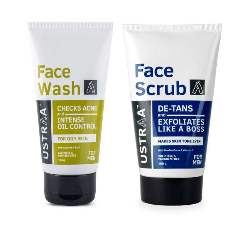 Face Wash - Oily Skin & Face Scrub