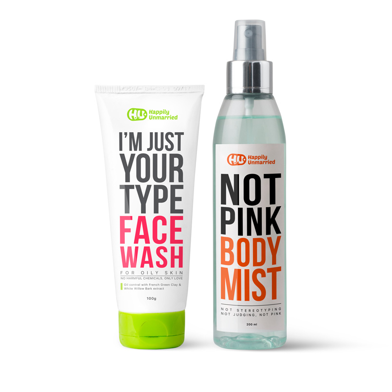 Face Wash - Oily Skin & Body Mist - Not Pink