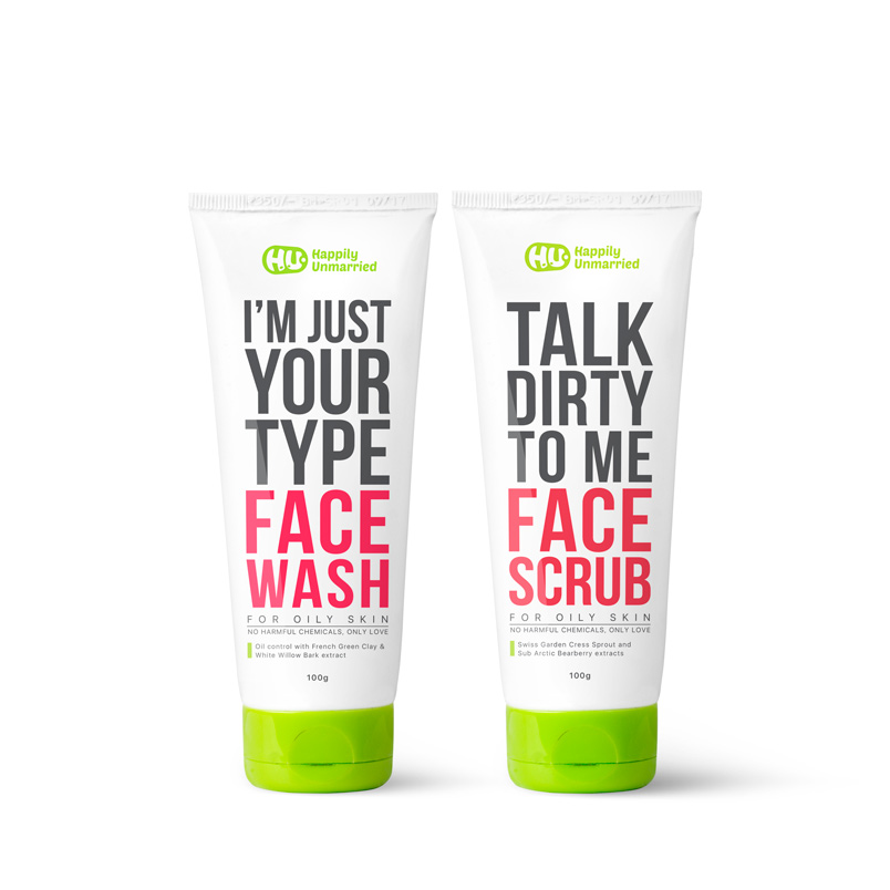 Face Wash & Face Scrub - Oily Skin