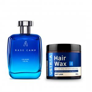 Cologne Base Camp & Hair Wax- Wet Look